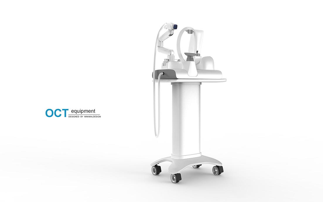 视网膜光学相干断层扫描仪(OCT)